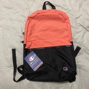 Champion backpack ascend coral black